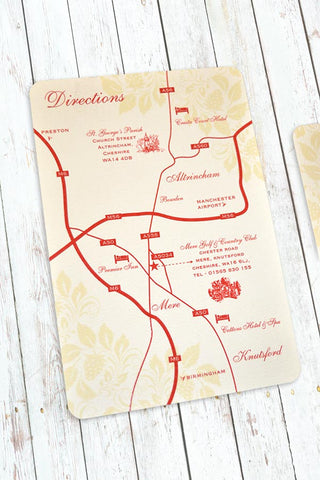 Strawberry Cream - Direction Card