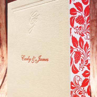 Strawberry Cream - Wedding Invitation