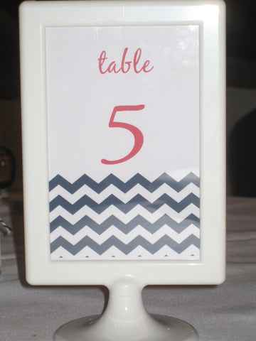 Table Number 5 - Nautical Theme