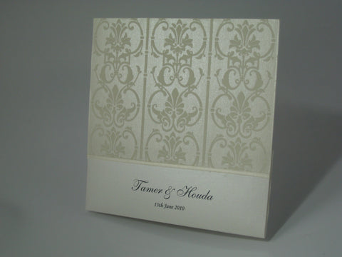 Tamer's Chic Invitation