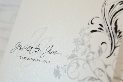 Versaille Elegance - Wedding Invite