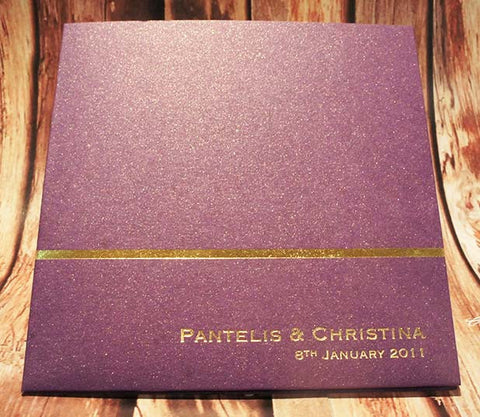 Violet Passion -  Wedding Invitation