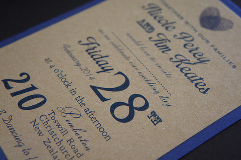 1E. Wedding Celebration Invitation