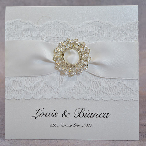 White Queen - Wedding Invite