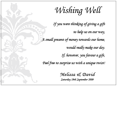 Formal Damask - Wishing Well