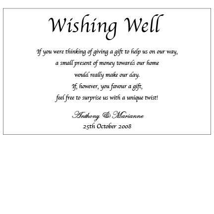 Silver Love Wrap - Wishing Well