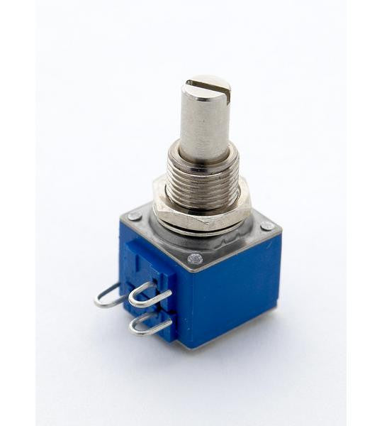 Potentiometer - 500K audio taper pot - Bourns 82 series - solid