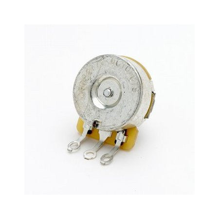 Potentiometer - 250K audio pot CTS split knurled shaft - vintage style back - left-handed