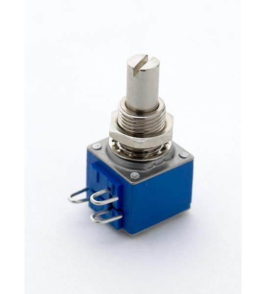 Potentiometer - 250K audio taper pot - Bourns 82 series - solid