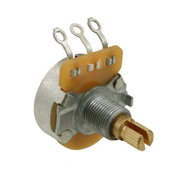 Potentiometer - 250K linear pot CTS split knurled shaft