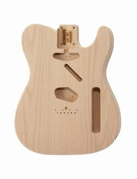 Guitar body - replacement body for Tele - no finish - Alder