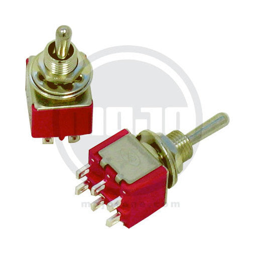 Amp switch - mini toggle switch DPST On-On