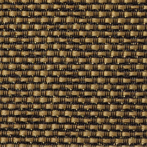 Amp grill cloth - Mojotone - tan/black/gold sparkle - 33 inch wide (per yard)