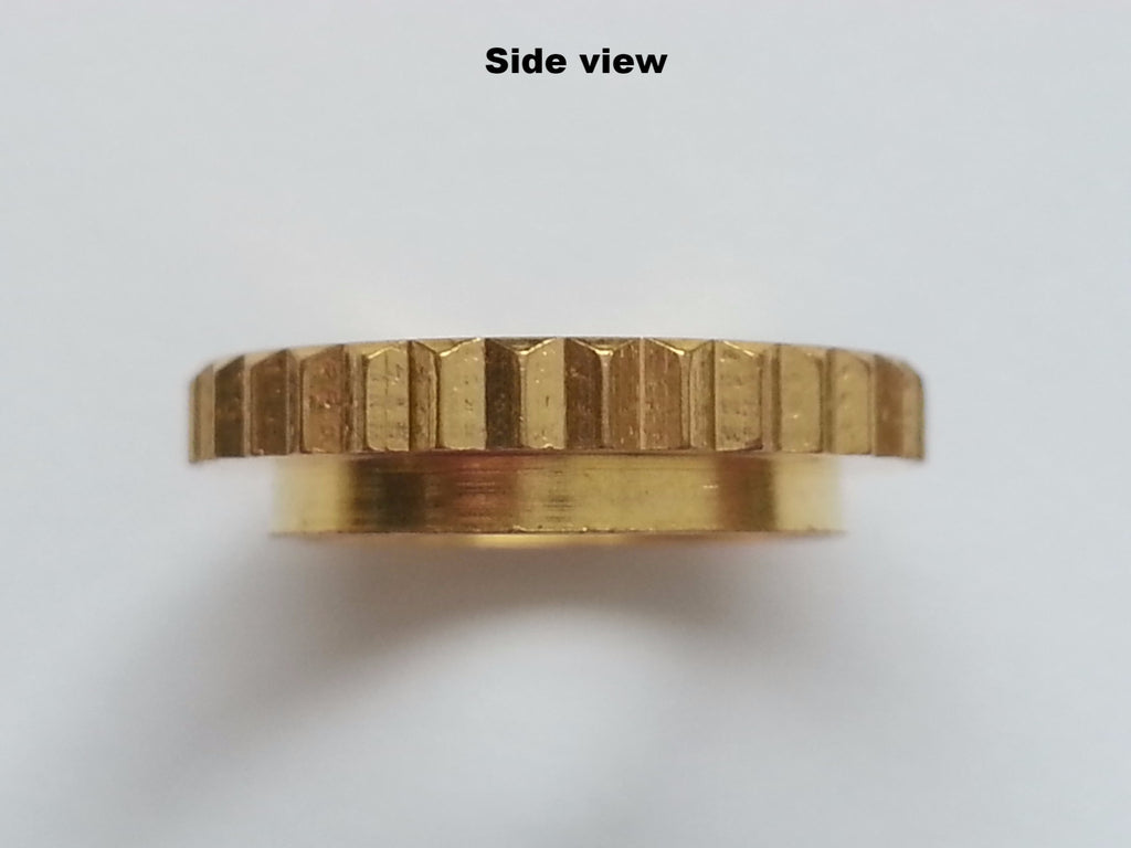 Deep thread round nut for metric toggle switches