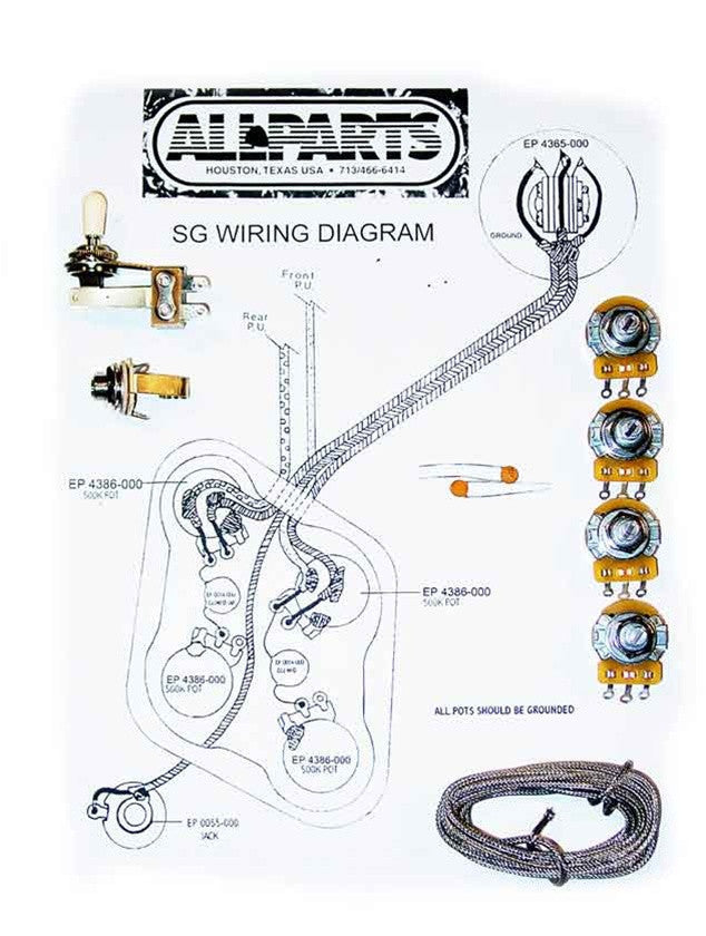 Wiring kit for SG