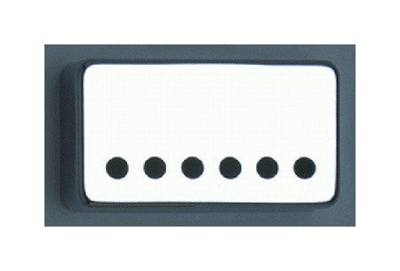 Humbucking Pickup Covers- Set with wide (53mm) spaced bridge pickup cover