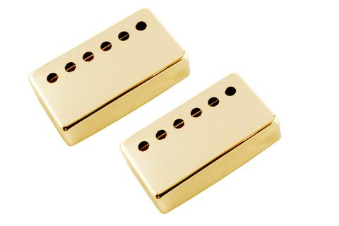 Pickup covers for Humbuckers - nickel-silver - 53mm (2-3/32 inch) spacing, set of 2