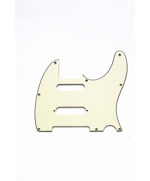 Pickguard for Tele -  cut for Strat p/up in middle - 8 screw holes
