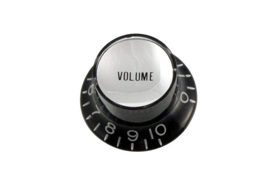 Knobs - reflector cap VOLUME knob w insert (Pack of 2)