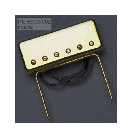 Jazz guitar mini humbucker attaches to neck
