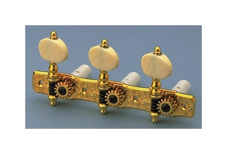 Tuning keys - Gotoh Hauser classical tuning keys    w simulated ivory  buttons
