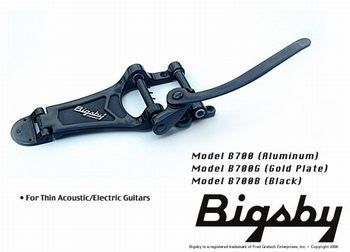 Bigsby B700 w tension bar - licensed