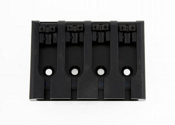 Bass bridge - with lock-down saddles - adjustable spacing