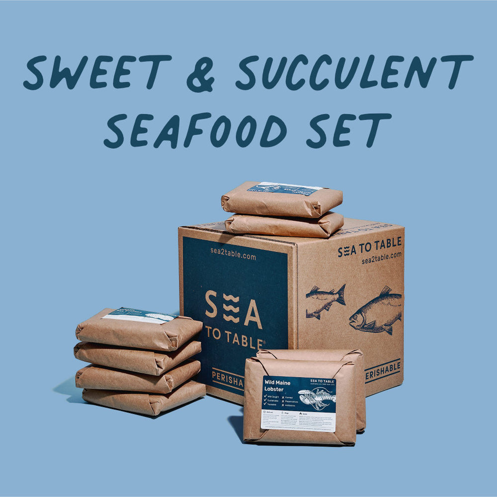 Load image into Gallery viewer, Sweet & Succulent Seafood Set