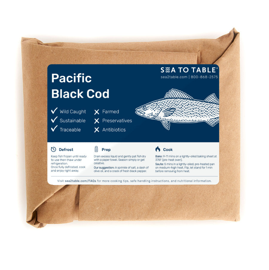 Load image into Gallery viewer, Pacific Black Cod
