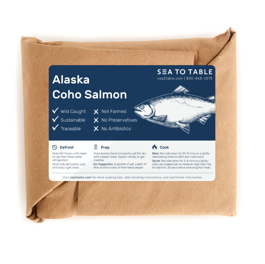 Load image into Gallery viewer, Alaska Coho Salmon