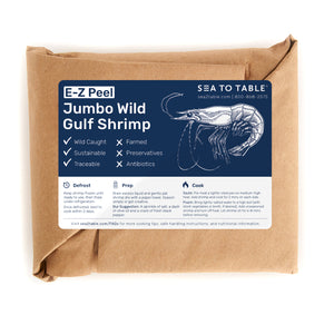 Load image into Gallery viewer, JUMBO E-Z Peel Wild Gulf Shrimp