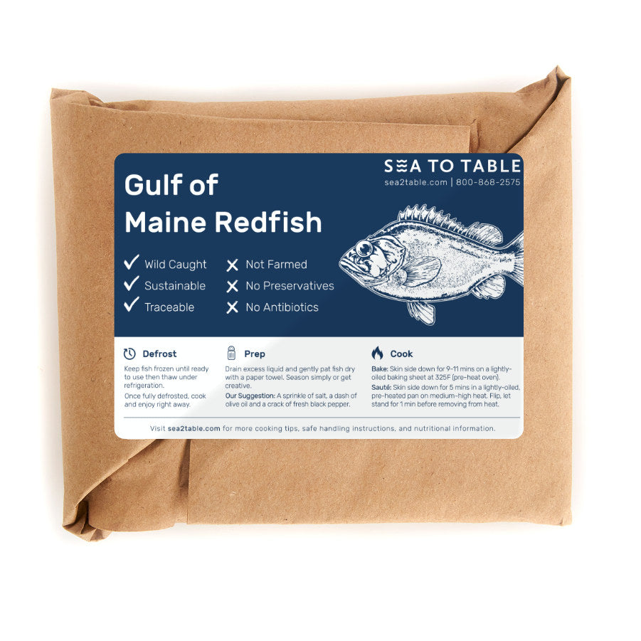 Load image into Gallery viewer, Gulf of Maine Redfish