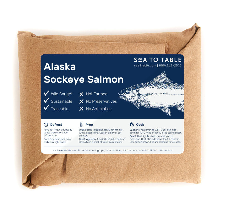 Load image into Gallery viewer, Alaska Sockeye Salmon
