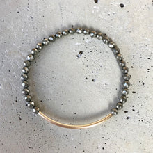 Load image into Gallery viewer, One Pyrite Bracelet