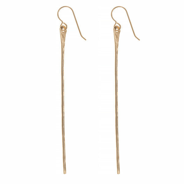 Pahi Gold Spike Earrings