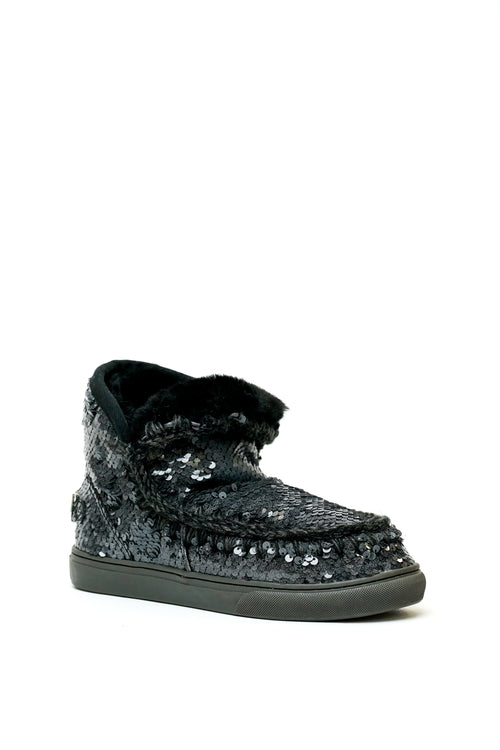 Eskimo Sneaker Sequins & Big Metal Logo