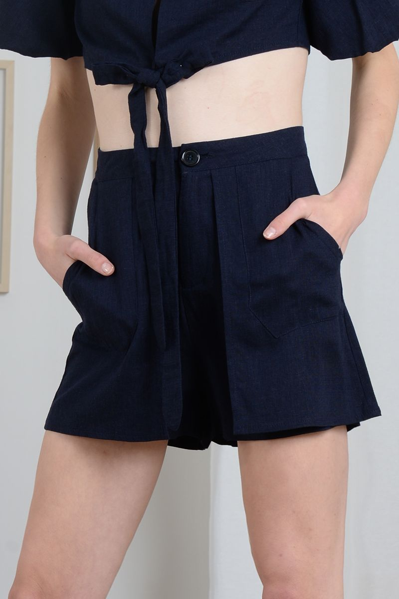 Molly Bracken Linen Shorts