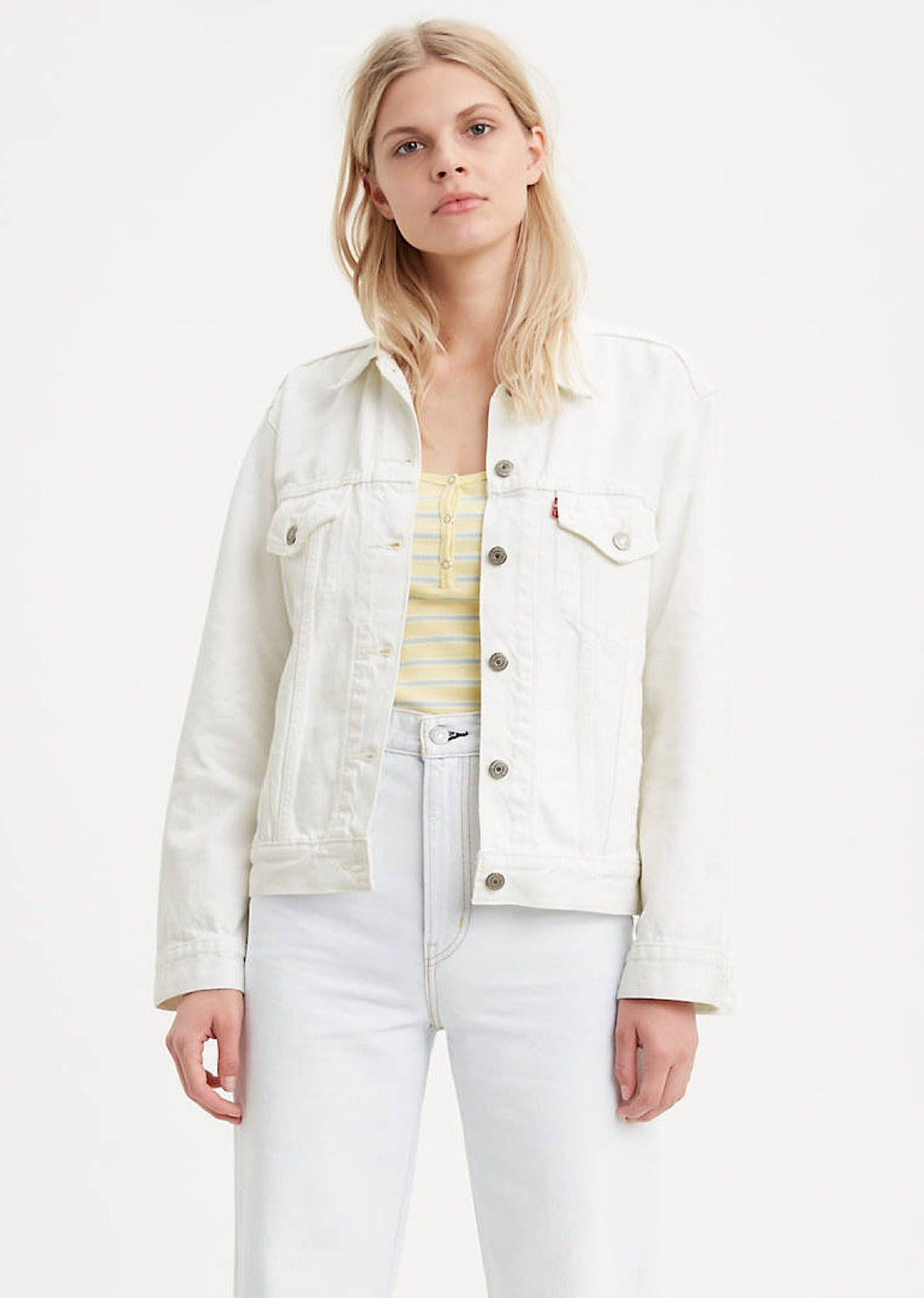 Levi's Ex-Boyfriend Trucker White Cell