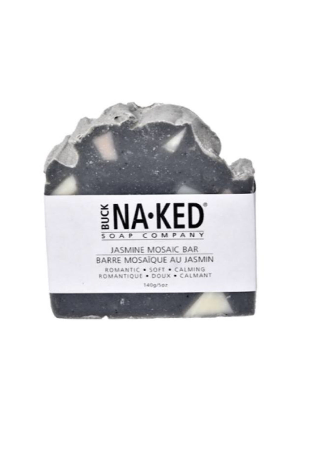 Buck Naked Jasmine Mosaic Soap