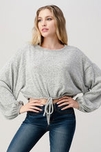 Load image into Gallery viewer, Hashtag Knit Cropped Top