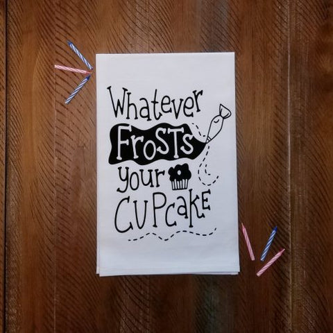 Whatever Frosts Your Cupcake
