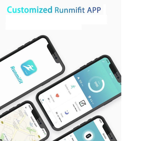 Runmifit Smartphone App for Andriod and Apple devices