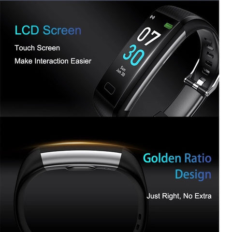 LCD Touchscreen and Perfect fit with Golden Ratio Design