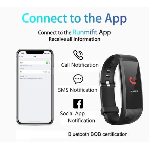 Smartphone Notifications and Alerts through Runmifit App