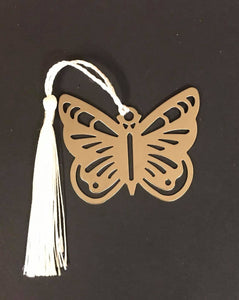 Metal Butterfly Bookmark