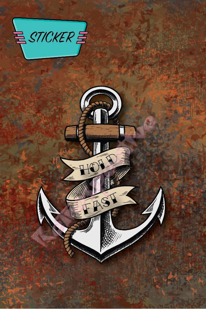 Tattoo Anchor sticker