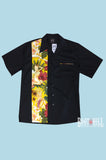 Yellow Tiki Pinup Bowling shirt