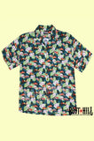 Ray's Tiki Teal Lounge shirt