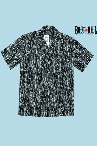 Grey flamin Hot Lounge shirt