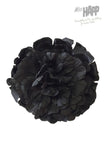 Black Dahlia hair flower clip